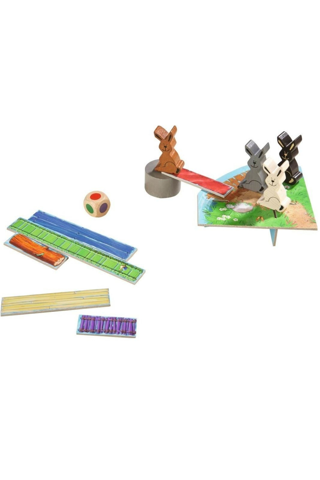 HABA USA Rabbit Rally Game - Front Full Image