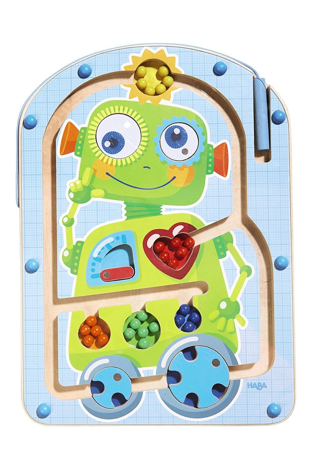 HABA USA Robot Magnetic Maze - Front Cropped Image