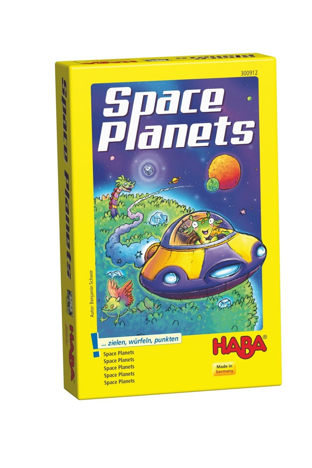 HABA USA Space Planets Game - Main Image