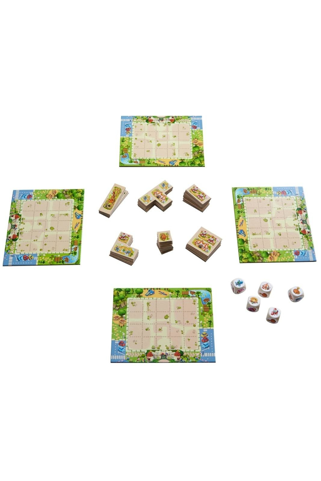 HABA USA Tiny Park Game - Front Full Image