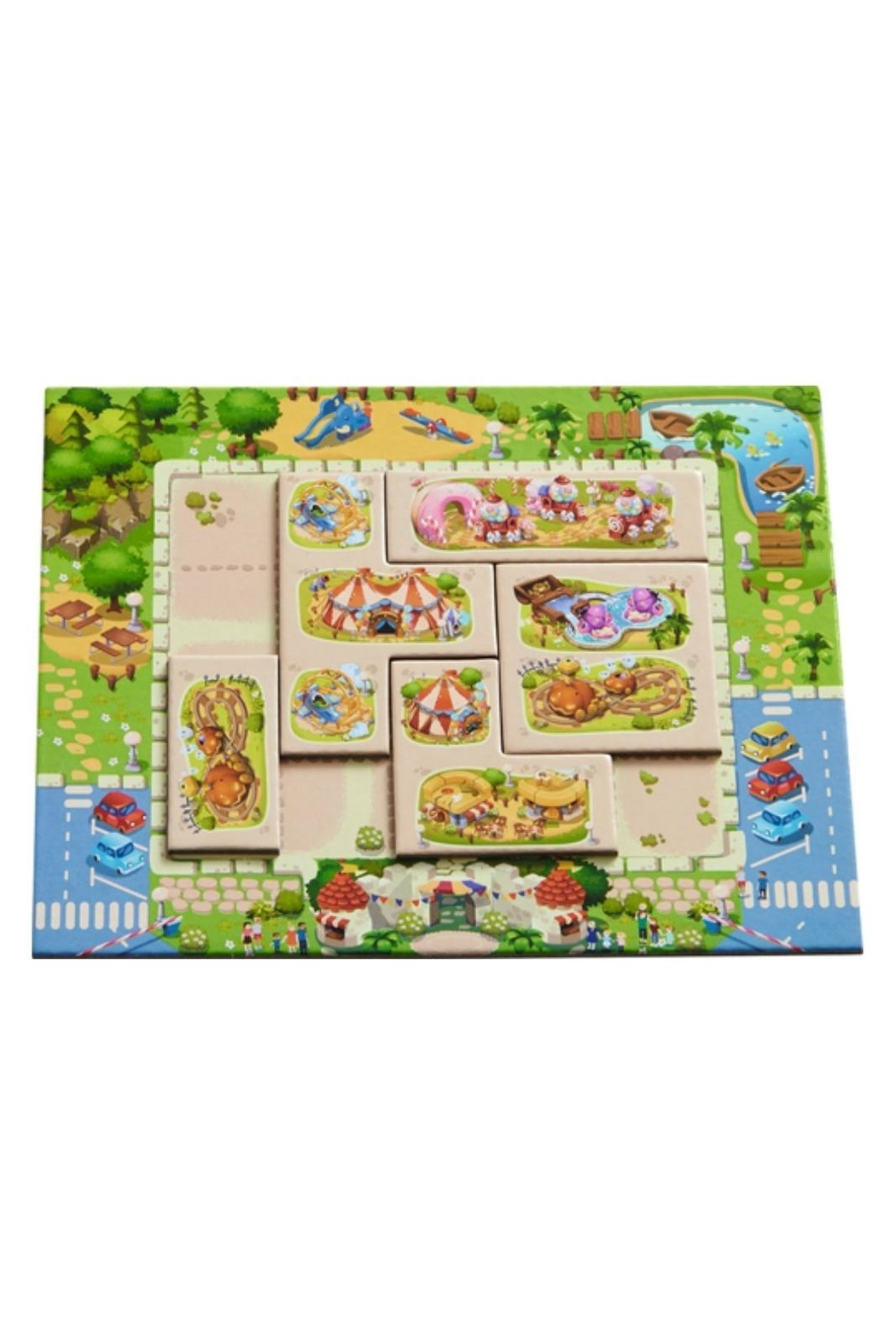 HABA USA Tiny Park Game - Side Cropped Image