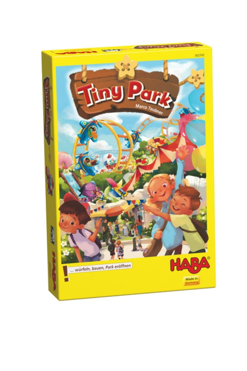 HABA USA Tiny Park Game - Front Cropped Image