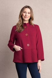Habitat Stand Collar Pocket Jacket Barn Red A39019 - Product Mini Image