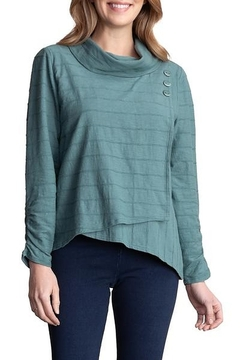 Habitat Cowl Pullover Forest A16407 - Alternate List Image