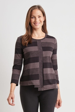 Habitat Stripe Stepped Hem Top - Product List Image