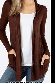 Zenana Outfitters Hacci Knit Cardigan - Product Mini Image