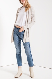 z supply Hacci Open Cardigan - Front full body