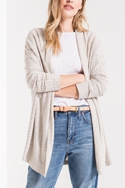 z supply Hacci Open Cardigan - Front cropped