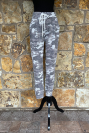 Suzette Hacci Soft Camo Jogger - Product Mini Image