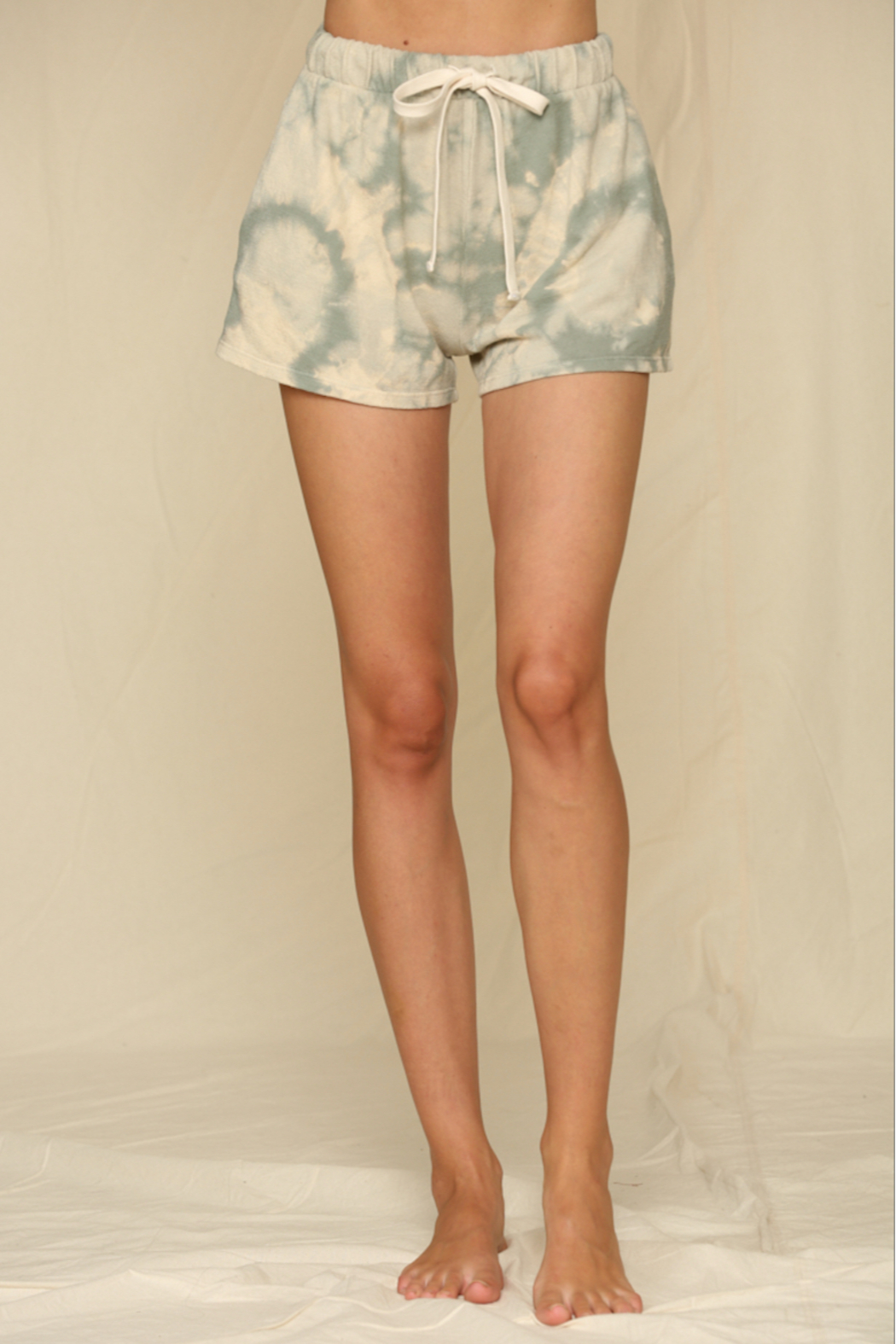 Blank Paige Hacci Tie-Dye Shorts - Main Image
