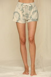 Blank Paige Hacci Tie-Dye Shorts - Front cropped