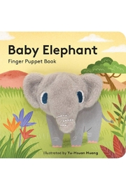 Hachette Book Group Baby Elephant Finger Puppet Book - Product Mini Image