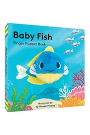 Hachette Book Group Baby Fish Finger Puppet Book - Product Mini Image