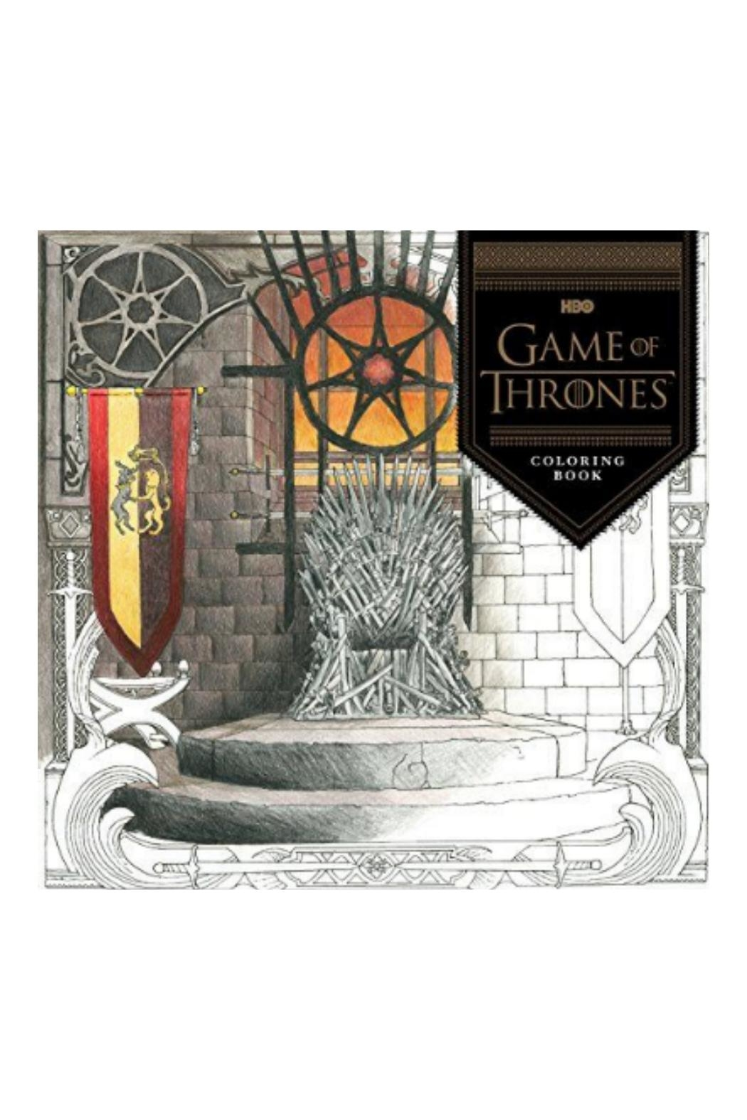 Hachette Book Group Game of Thrones Coloring Book - Main Image