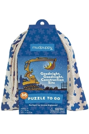 Hachette Book Group Goodnight Goodnight Construction Site Puzzle To Go - Product Mini Image