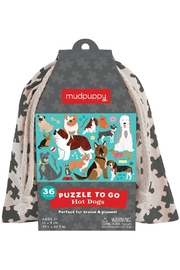 Hachette Book Group Hot Dog Puzzle To Go - Product Mini Image