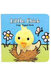 Hachette Book Group Little Chick Finger Puppet Book - Product Mini Image