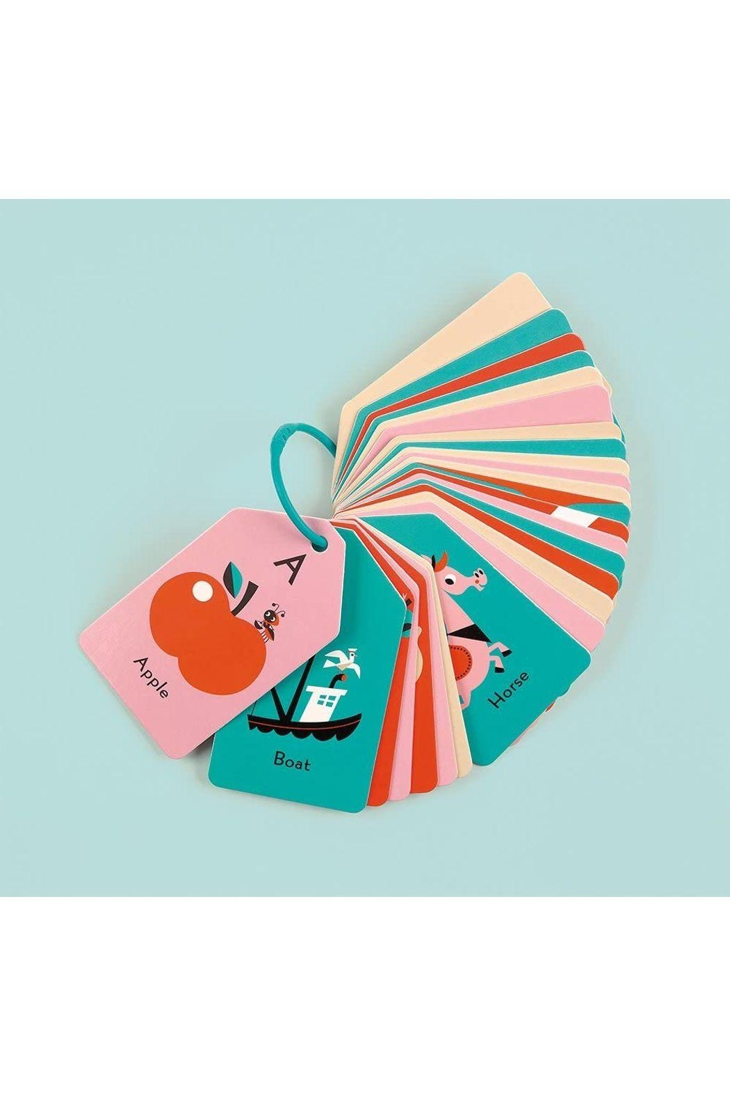 Hachette Book Group My Abc's Flash Card Ring - Front Full Image