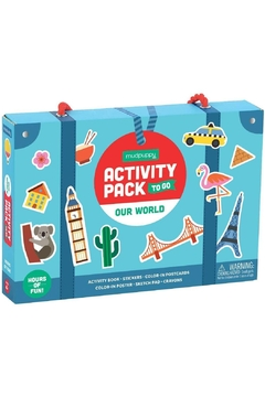 Shoptiques Product: Our World Activity Pack To Go