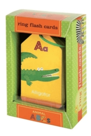 Hachette Book Group Ring Flash Cards: Animals - Product Mini Image