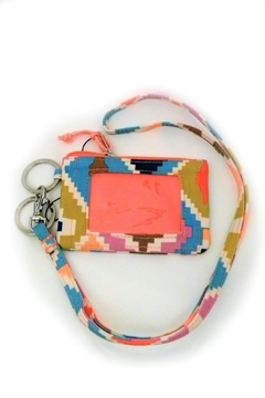 Vera Bradley Hacienda Diamonds Zip-Id/lanyard - Product List Image