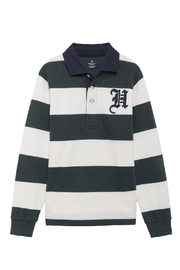 Hackett Striped Rugby Top - Product Mini Image