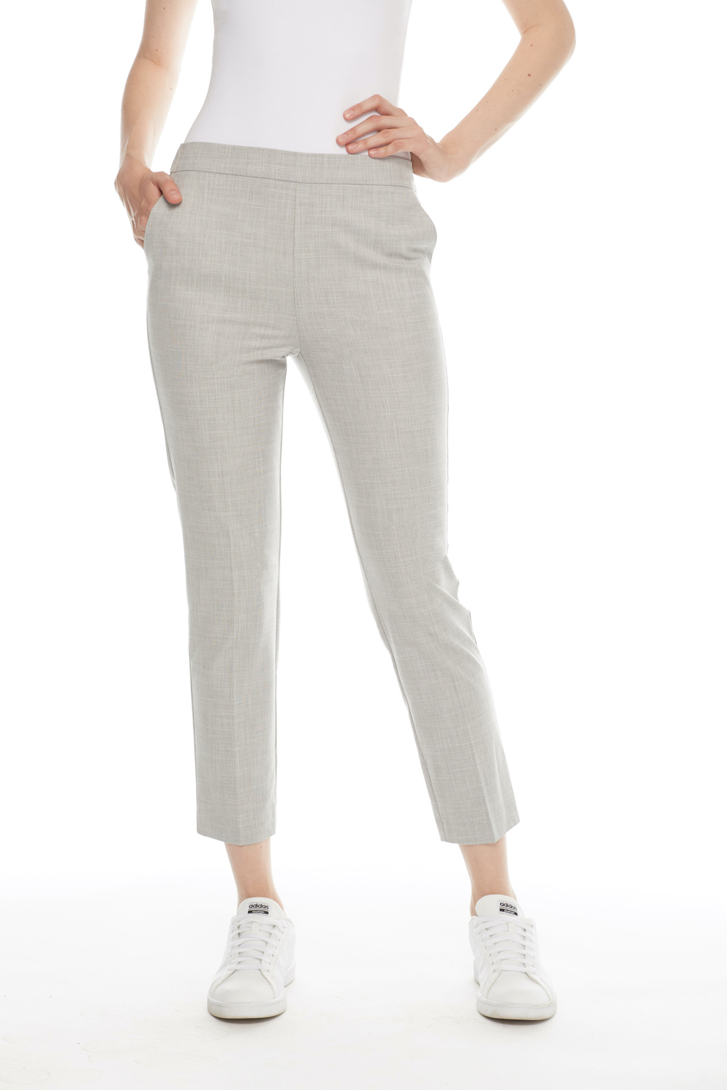 I Love Tyler Madison Haddie Crop Trouser - Front Cropped Image