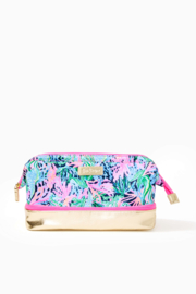 Lilly Pulitzer  Haden Travel Pouch - Front cropped