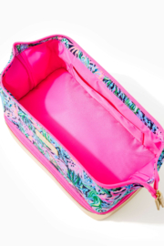 Lilly Pulitzer  Haden Travel Pouch - Front full body