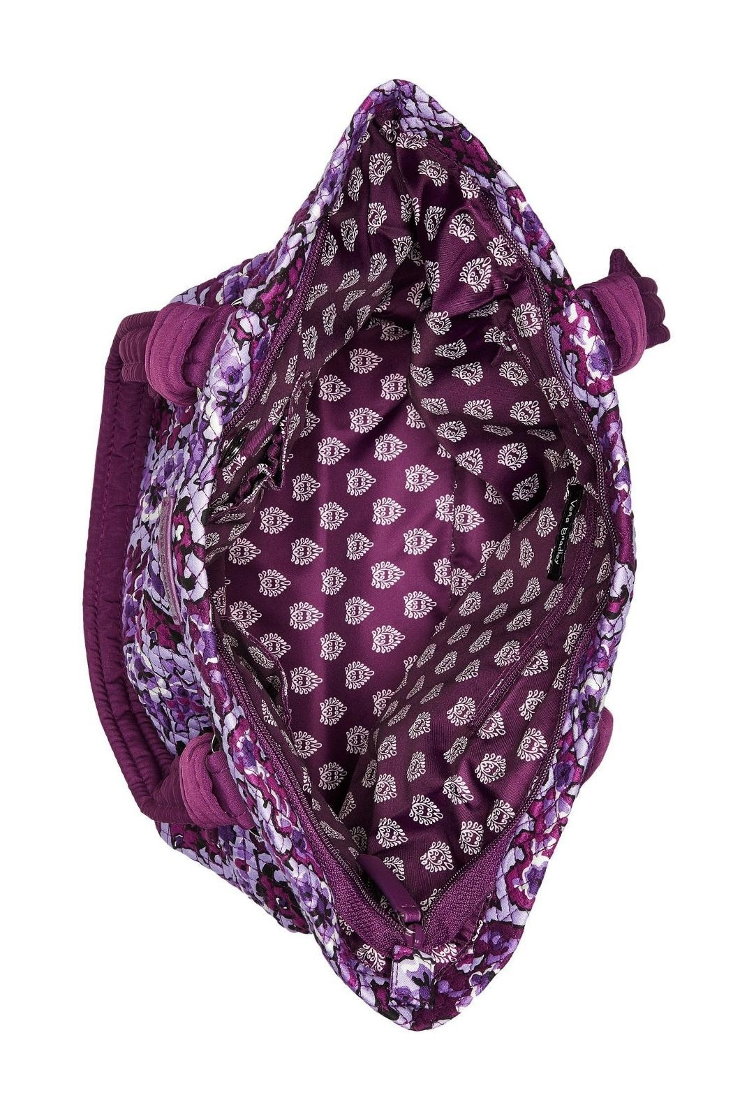 Vera Bradley Lilac Paisley Hadley-East-West - Side Cropped Image