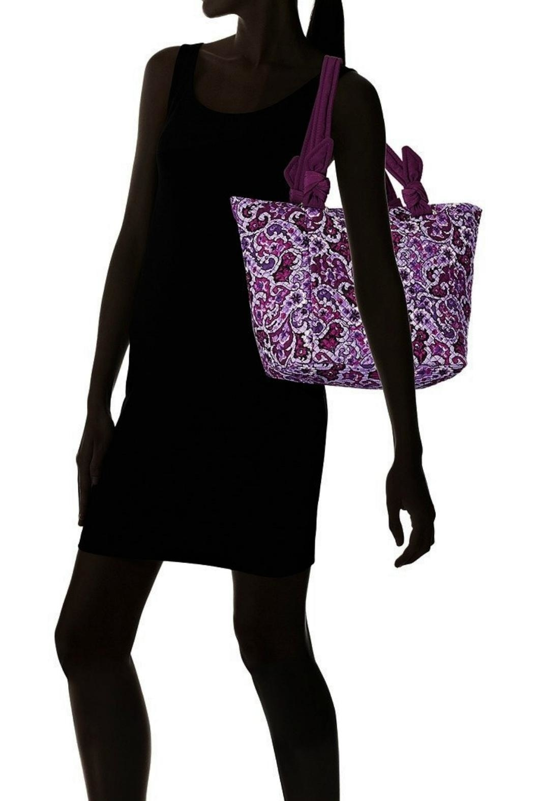 Vera Bradley Lilac Paisley Hadley-East-West - Back Cropped Image