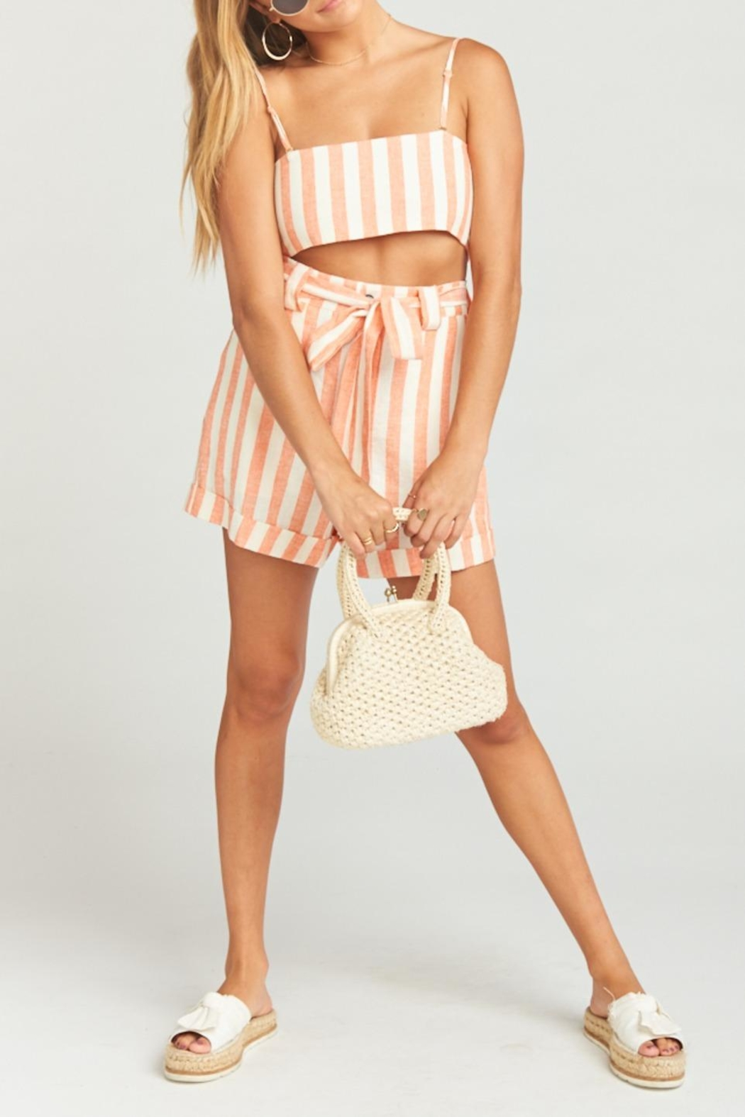 Show Me Your Mumu Hadley Shorts - Front Cropped Image