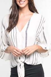 Love Stitch Hadley Striped Top - Front cropped