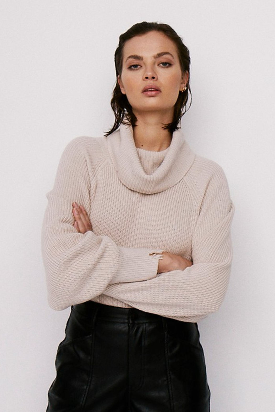 Pistola Hadley Sweater - Front Cropped Image