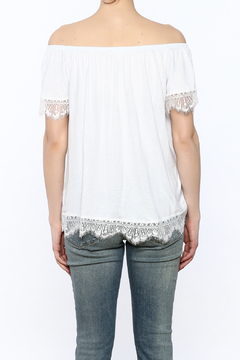 Hailey & Co Lace Off-Shoulder Top - Alternate List Image