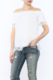 Hailey & Co Lace Off-Shoulder Top - Product Mini Image