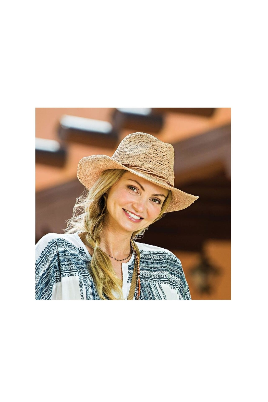 Wallaroo Hat Company Hailey Cowgirl Hat - Front Full Image