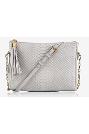 Gigi New York Hailey Python Crossbody - Front cropped