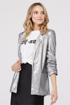 David Lerner New York Hailey Sequin Blazer - Product List Image