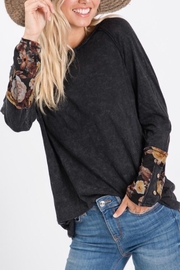 Hailey & Co Boho Print Top - Product Mini Image