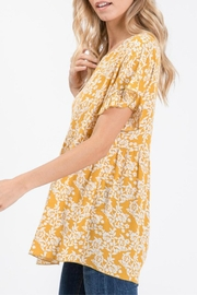 Hailey & Co Floral Babydoll - Side cropped