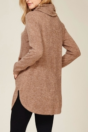 Hailey & Co Highneck Sweater Tunic - Product Mini Image