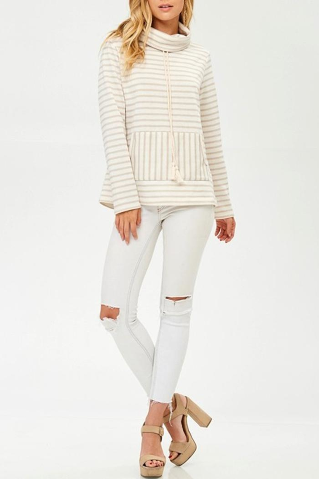 Hailey & Co Winter White Sweatshirt - Main Image