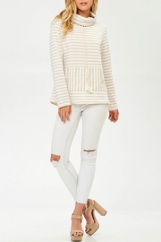 Hailey & Co Winter White Sweatshirt - Front cropped