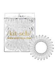 Kitsch Hair Coils - 4 Pack, Transparent - Product Mini Image