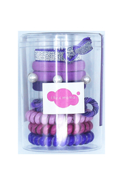 Lily & Momo Hair Ties Color Pop Set - Front cropped