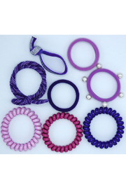 Lily & Momo Hair Ties Color Pop Set - Front full body