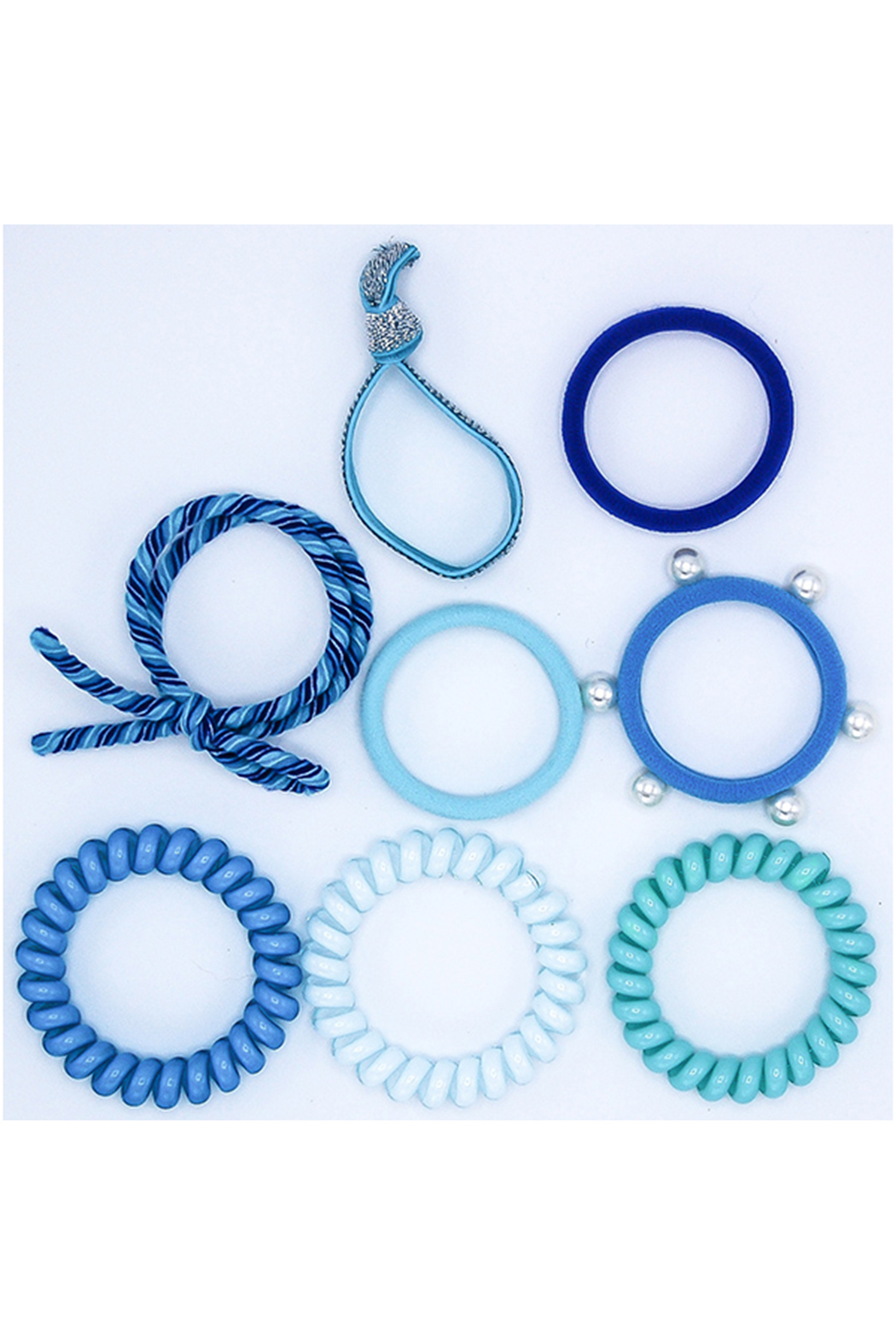 Lily & Momo Hair Ties Color Pop Set - Front Full Image
