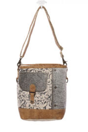 MarkWEST-Myra Bag Hairon Flap Pocket Shoulder Bag - Product Mini Image
