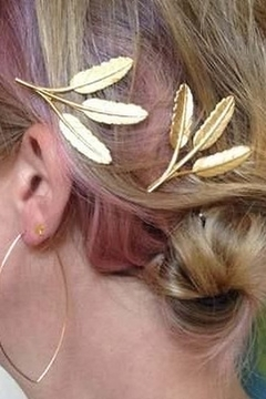 Amano Trading Hairpin Grecian Frond Set of Two - Alternate List Image